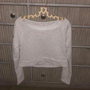 Lululemon cropped sweatshirt size 6